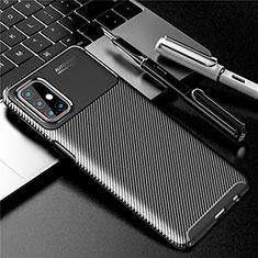 Funda Silicona Carcasa Goma Twill para Samsung Galaxy M31s Negro