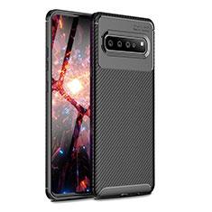 Funda Silicona Carcasa Goma Twill para Samsung Galaxy S10 5G SM-G977B Negro