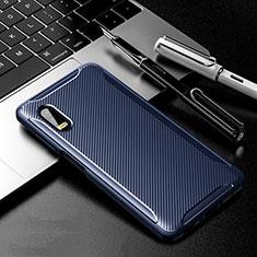 Funda Silicona Carcasa Goma Twill para Samsung Galaxy XCover Pro Azul