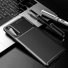 Funda Silicona Carcasa Goma Twill para Sony Xperia 10 II Negro