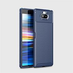 Funda Silicona Carcasa Goma Twill para Sony Xperia 8 Lite Azul