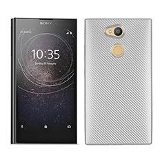 Funda Silicona Carcasa Goma Twill para Sony Xperia L2 Blanco