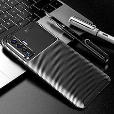 Funda Silicona Carcasa Goma Twill para Vivo X50 5G Negro
