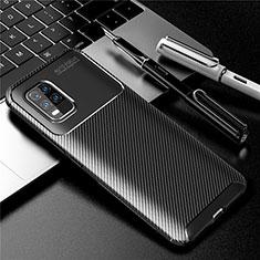 Funda Silicona Carcasa Goma Twill para Xiaomi Mi 10 Lite Negro