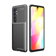 Funda Silicona Carcasa Goma Twill para Xiaomi Mi Note 10 Lite Negro