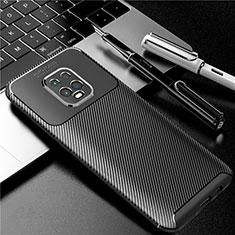 Funda Silicona Carcasa Goma Twill para Xiaomi Redmi 10X Pro 5G Negro