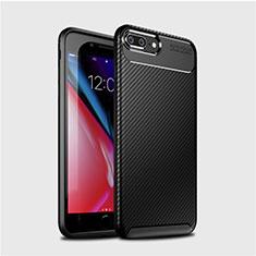 Funda Silicona Carcasa Goma Twill S01 para Apple iPhone 8 Plus Negro