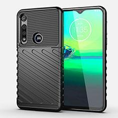 Funda Silicona Carcasa Goma Twill S01 para Motorola Moto G8 Play Negro