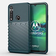 Funda Silicona Carcasa Goma Twill S01 para Motorola Moto G8 Plus Verde