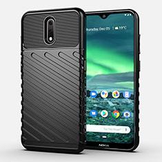 Funda Silicona Carcasa Goma Twill S01 para Nokia 2.3 Negro