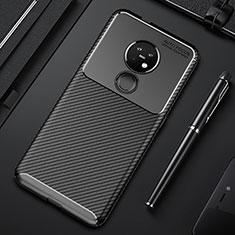 Funda Silicona Carcasa Goma Twill S01 para Nokia 6.2 Negro
