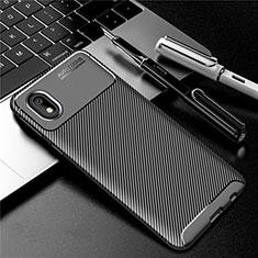 Funda Silicona Carcasa Goma Twill S01 para Samsung Galaxy A01 Core Negro