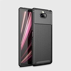 Funda Silicona Carcasa Goma Twill S01 para Sony Xperia 10 Negro