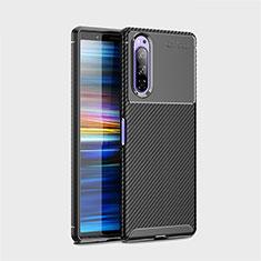 Funda Silicona Carcasa Goma Twill S01 para Sony Xperia 5 Negro
