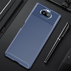 Funda Silicona Carcasa Goma Twill S01 para Sony Xperia 8 Azul