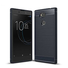 Funda Silicona Carcasa Goma Twill S01 para Sony Xperia L2 Azul