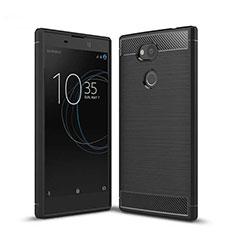Funda Silicona Carcasa Goma Twill S01 para Sony Xperia L2 Negro