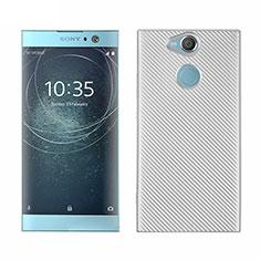 Funda Silicona Carcasa Goma Twill S01 para Sony Xperia XA2 Plus Blanco