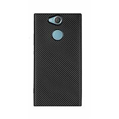 Funda Silicona Carcasa Goma Twill S01 para Sony Xperia XA2 Ultra Negro
