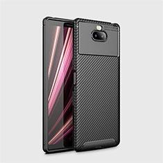 Funda Silicona Carcasa Goma Twill S01 para Sony Xperia XA3 Ultra Negro