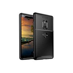 Funda Silicona Carcasa Goma Twill S01 para Sony Xperia XZ3 Negro