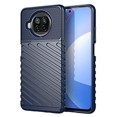 Funda Silicona Carcasa Goma Twill S01 para Xiaomi Mi 10i 5G Azul