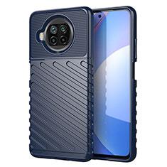 Funda Silicona Carcasa Goma Twill S01 para Xiaomi Mi 10T Lite 5G Azul
