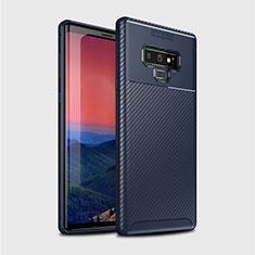 Funda Silicona Carcasa Goma Twill T01 para Samsung Galaxy Note 9 Azul