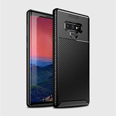Funda Silicona Carcasa Goma Twill T01 para Samsung Galaxy Note 9 Negro