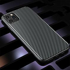 Funda Silicona Carcasa Goma Twill Y01 para Apple iPhone 11 Pro Negro