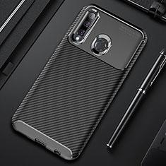 Funda Silicona Carcasa Goma Twill Y01 para Huawei Honor 20 Lite Negro