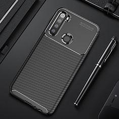 Funda Silicona Carcasa Goma Twill Y01 para Xiaomi Redmi Note 8 Negro