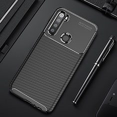Funda Silicona Carcasa Goma Twill Y01 para Xiaomi Redmi Note 8T Negro