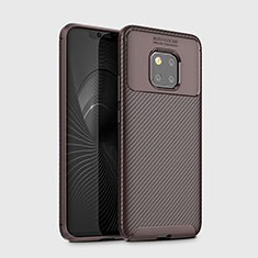 Funda Silicona Carcasa Goma Twill Y02 para Huawei Mate 20 Pro Marron