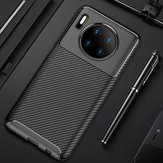 Funda Silicona Carcasa Goma Twill Y02 para Huawei Mate 30 5G Negro