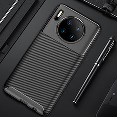Funda Silicona Carcasa Goma Twill Y02 para Huawei Mate 30 Pro Negro