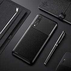 Funda Silicona Carcasa Goma Twill Y02 para Huawei P20 Pro Negro