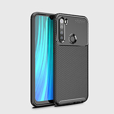 Funda Silicona Carcasa Goma Twill Y02 para Xiaomi Redmi Note 8T Negro
