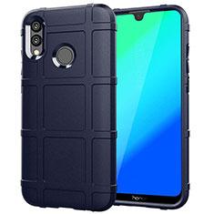 Funda Silicona Carcasa Ultrafina Goma Frontal y Trasera 360 Grados para Huawei Honor 10 Lite Azul