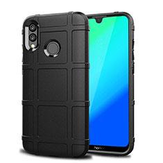 Funda Silicona Carcasa Ultrafina Goma Frontal y Trasera 360 Grados para Huawei P Smart (2019) Negro