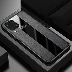 Funda Silicona Goma de Cuero Carcasa H03 para Huawei P40 Lite Negro