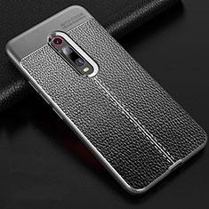 Funda Silicona Goma de Cuero Carcasa H03 para Xiaomi Mi 9T Pro Gris