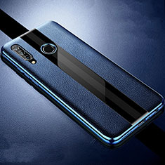 Funda Silicona Goma de Cuero Carcasa H05 para Huawei Honor 20 Lite Azul