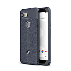 Funda Silicona Goma de Cuero Carcasa para Google Pixel 3a XL Azul