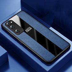 Funda Silicona Goma de Cuero Carcasa para Huawei Honor 30 Lite 5G Azul