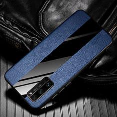 Funda Silicona Goma de Cuero Carcasa para Huawei Honor 30 Pro Azul