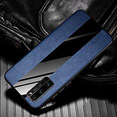 Funda Silicona Goma de Cuero Carcasa para Huawei Honor 30 Pro+ Plus Azul