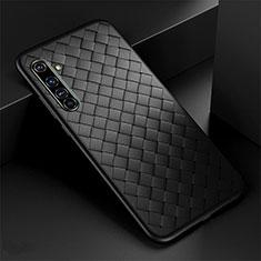 Funda Silicona Goma de Cuero Carcasa para Realme X50 Pro 5G Negro