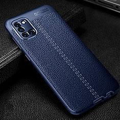 Funda Silicona Goma de Cuero Carcasa para Samsung Galaxy A31 Azul