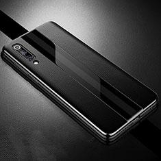 Funda Silicona Goma de Cuero Carcasa S01 para Xiaomi Mi 9 Pro 5G Negro